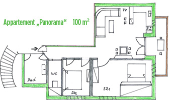"Plan ""Panoramawohnung ""Deluxe"""
